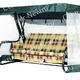 Фото №2 Чехол-москитная сетка 2в1 для садовых качелей Элит (с прямой крышей)