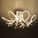 Фото №4 Светодиодный потолочный светильник с хрусталем 90106/7 хром