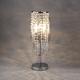 Фото №4 Настольная лампа с хрусталем 01035/2 хром/прозрачный хрусталь Strotskis