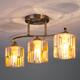 Фото №3 Потолочный светильник 30124/3 античная бронза