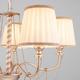 Фото №2 Классическая люстра с абажурами 60068/5 перламутровое золото