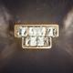 Фото №5 Светодиодный настенный светильник с хрусталем 90059/2 золото