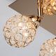 Фото №6 Потолочный светильник с поворотными плафонами 20042/4 золото