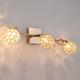Фото №4 Настенный светильник с хрусталем 20042/3 золото