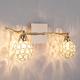 Фото №2 Настенный светильник с хрусталем 20042/2 золото