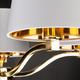 Фото №9 Подвесная люстра с абажурами 70073/5 золото