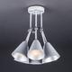 Фото №8 Потолочный светильник с поворотными рожками 70052/6 серый/серебро