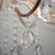 Фото №7 Подвесная люстра с хрусталем 10087/12 золото/прозрачный хрусталь Strotskis