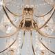 Фото №8 Подвесная люстра с хрусталем 10087/12 золото/прозрачный хрусталь Strotskis
