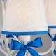 Фото №5 Подвесная люстра с абажурами 60066/5 белый/синий