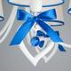 Фото №6 Подвесная люстра с абажурами 60066/5 белый/синий