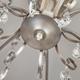 Фото №7 Потолочная люстра с абажурами 60065/8 серебро