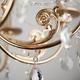Фото №6 Классическая люстра с хрусталем 10079/8 золото/прозрачный хрусталь Strotskis