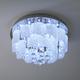 Фото №3 Люстра потолочная с хрусталем 80117/8 хром/белый