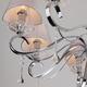 Фото №8 Подвесная люстра с хрусталем 10085/8 хром / прозрачный хрусталь