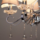 Фото №6 Подвесная люстра с хрусталем 10085/5 хром/прозрачный хрусталь Strotskis