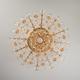 Фото №6 Потолочная люстра с хрусталем 10081/6 золото / прозрачный хрусталь