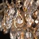 Фото №8 Потолочная люстра с хрусталем 10081/6 золото / прозрачный хрусталь