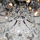 Фото №10 Потолочная люстра с хрусталем 10081/6 хром / прозрачный хрусталь