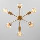 Фото №3 Подвесной светильник в стиле лофт 70058/6 золото