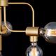 Фото №4 Подвесной светильник в стиле лофт 70058/6 золото
