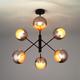 Фото №2 Подвесной светильник в стиле лофт 70057/6 перламутровое золото