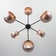 Фото №3 Подвесной светильник в стиле лофт 70057/6 перламутровое золото