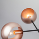 Фото №4 Подвесной светильник в стиле лофт 70057/6 перламутровое золото