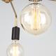 Фото №5 Подвесной светильник в стиле лофт 70053/5 черный/золото