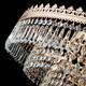 Фото №6 Потолочная люстра с хрусталем 10078/10 золото/прозрачный хрусталь Strotskis