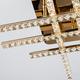 Фото №2 Светодиодный потолочный светильник с хрусталем 90041/6 золото