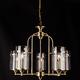 Фото №2 Подвесная люстра в стиле лофт 60040/5 античная бронза