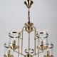 Фото №3 Подвесная люстра в стиле лофт 60040/5 античная бронза