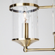 Фото №4 Подвесная люстра в стиле лофт 60040/5 античная бронза