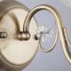 Фото №5 Бра в классическом стиле с абажуром 60039/1 античная бронза