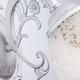 Фото №3 Бра в классическом стиле 70039/1 белый с серебром