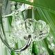 Фото №6 Люстра с цветным хрусталем 3125/5 хром/зелёный Strotskis