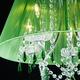 Фото №13 Люстра с цветным хрусталем 3125/5 хром/зелёный Strotskis