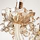 Фото №7 Люстра с тонированным хрусталем 10052/8 золото