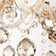 Фото №4 Люстра с тонированным хрусталем 10052/6 золото