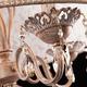 Фото №6 Люстра с хрусталем 10008/4 белый с золотом