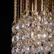 Фото №2 Подвесной светильник с хрусталем 3121/1 золото / прозрачный хрусталь