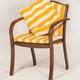 Фото №3 Кресло деревянное с матрацами и подушкой