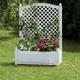 Фото №2 Большой ящик для растений с шпалерой 37001