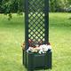 Фото №2 Маленький ящик для растений с центральной шпалерой 37403