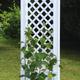 Фото №2 Садовая декоративная шпалера с штырями для установки в землю 37801