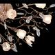 Фото №2 Люстра потолочная со светодиодной подсветкой 5122/16 золото/белый