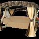 Фото №4 Садовые качели четырехместные МАДЕМУАЗЕЛЬ