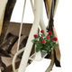 Фото №7 Садовые качели четырехместные МАДЕМУАЗЕЛЬ