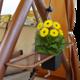 Фото №6 Садовые качели четырехместные БАРЫШНЯ